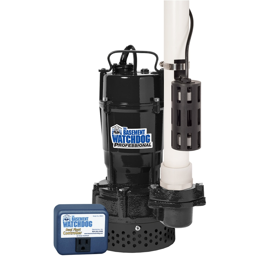 Basement Watchdog 0.75-HP Cast Iron/Cast Aluminum Submersible Sump Pump