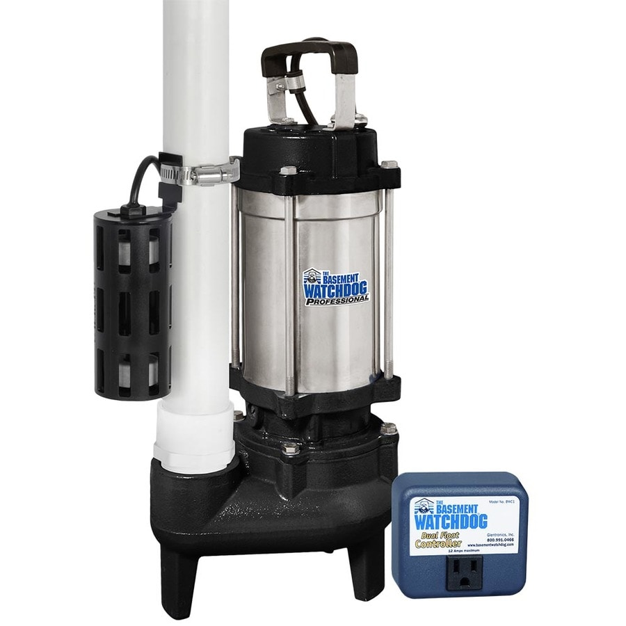 Bat Watchdog 1 Hp Stainless Steel Submersible Sump Pump