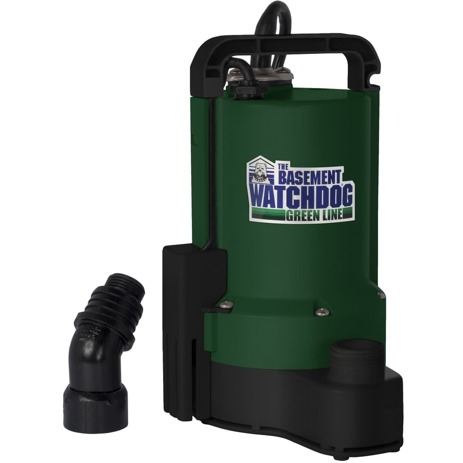 Basement Watchdog 0.33-HP Plastic Submersible Utility Pump