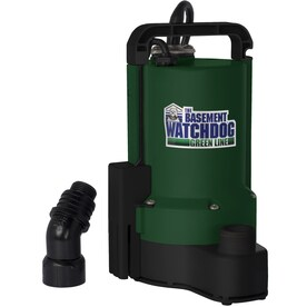 ProPlumber 0 16-HP Thermoplastic Submersible Utility Pump at