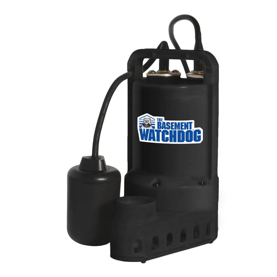Basement Watchdog 0.5-HP Thermoplastic Submersible Sump