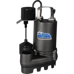 Basement Watchdog Professional 0 5-HP Cast Iron Submersible