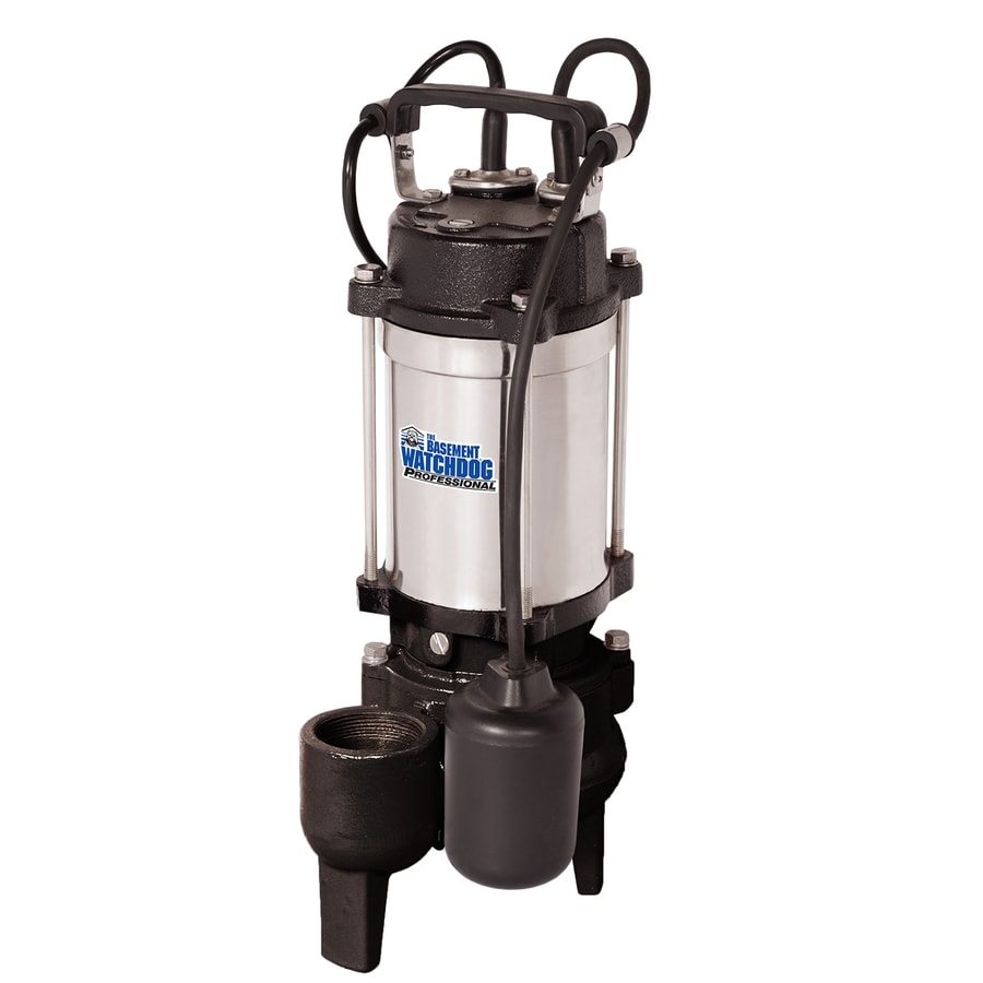 Basement Watchdog 0.5-HP Stainless Steel Sewage Sump Pump