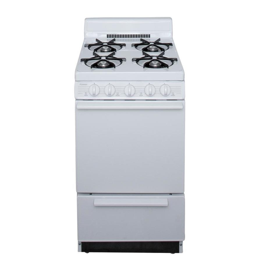 Shop Premier Freestanding 2 4 Cu Ft Gas Range White