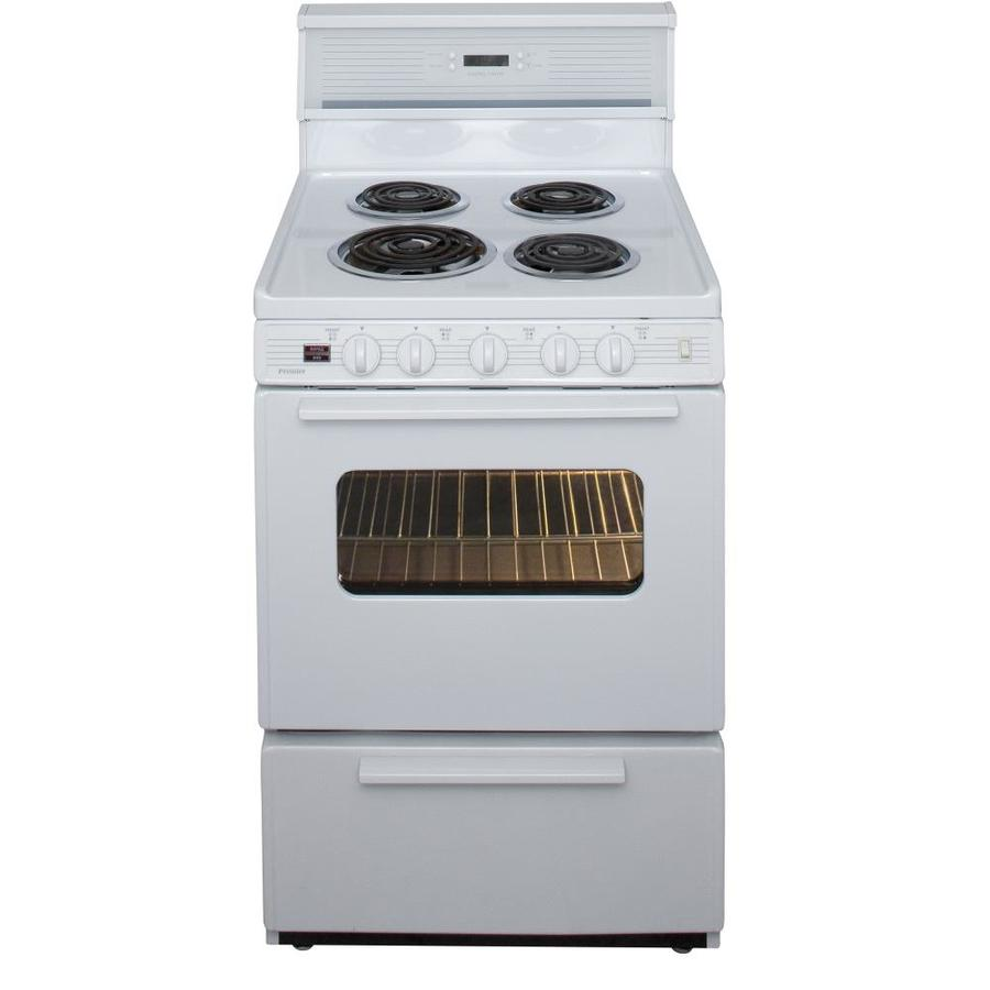 Shop Premier Freestanding 2.9-cu Ft Electric Range (White