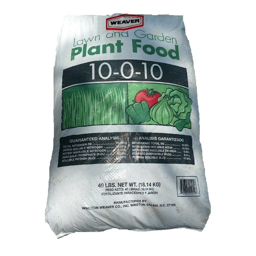 40-lb Lawn Fertilizer (10-0-10)