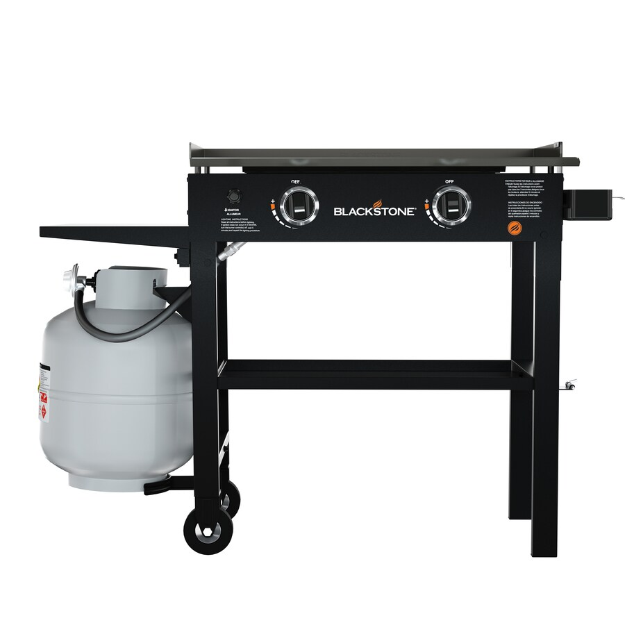 Blackstone Black 2-Burner Liquid Propane Gas Grill