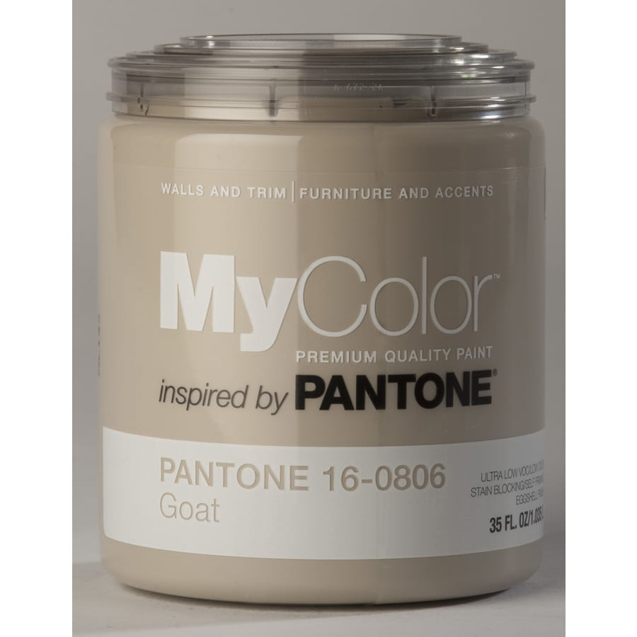 MyColor inspired by PANTONE 35-fl oz Interior Eggshell Goat Water-Base Paint and Primer in One