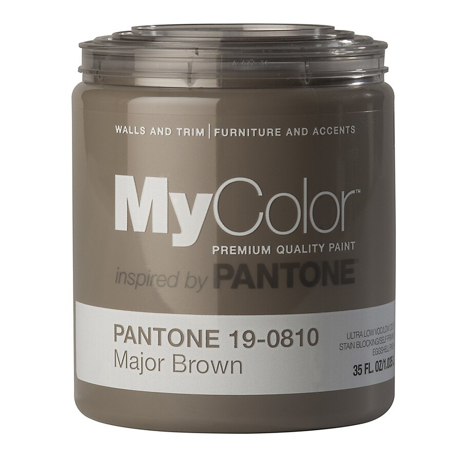 MyColor inspired by PANTONE 35-fl oz Interior Eggshell Cocoon Water-Base Paint and Primer in One