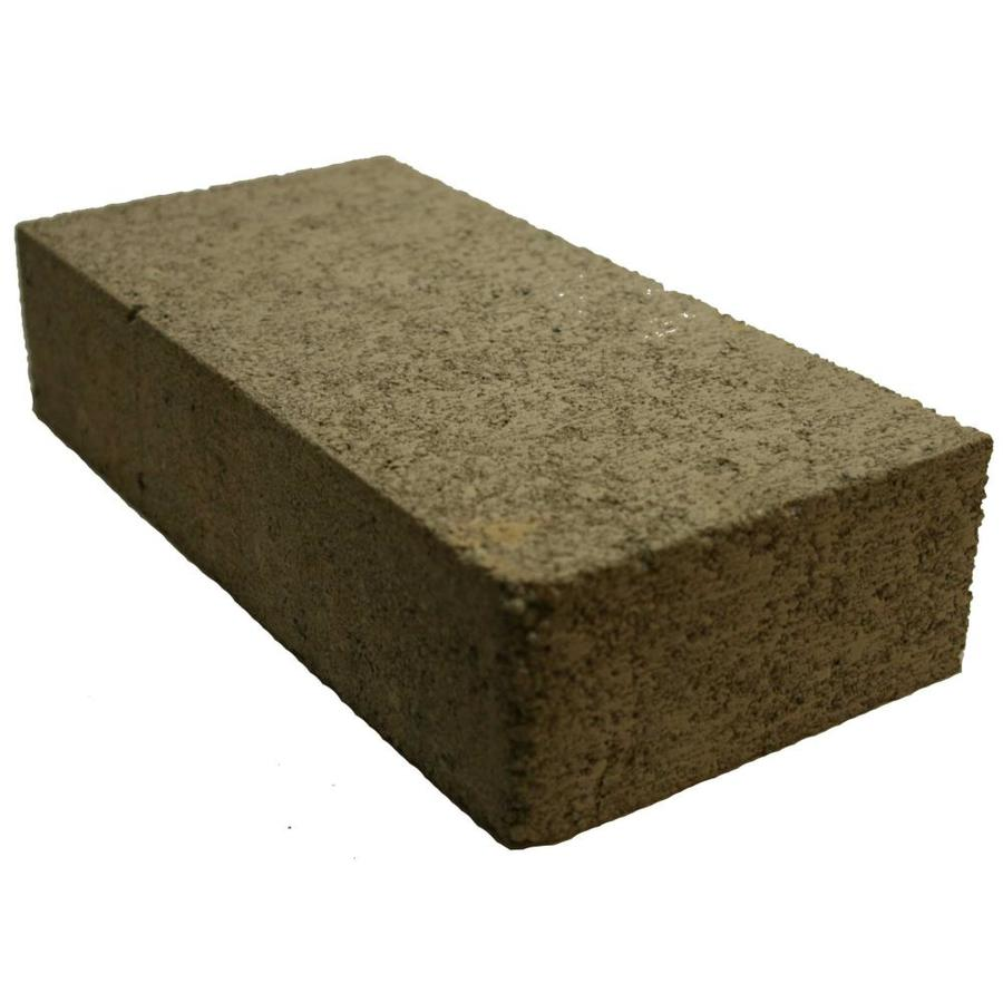 Basalite Solid Cap Concrete Block (Common: 4-in x 8-in x 16-in; Actual: 3.5-in x 7.5-in x 15.5-in)