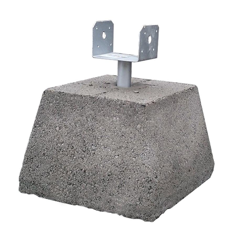 Dobie Block (Common: 12-in x 8-in x 8-in; Actual: 11.5-in x 7.5-in x 7.5-in)