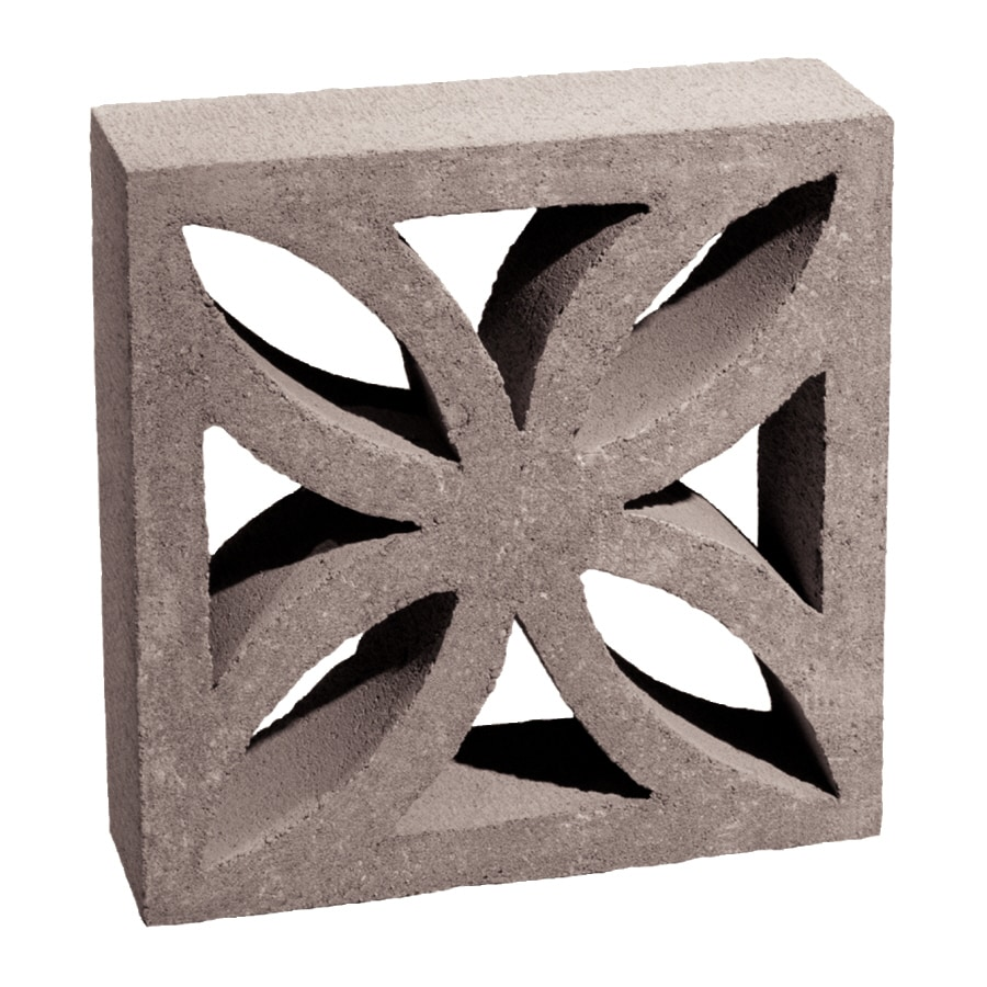 Shop Basalite Decorative Concrete Block Common 4 In X 12