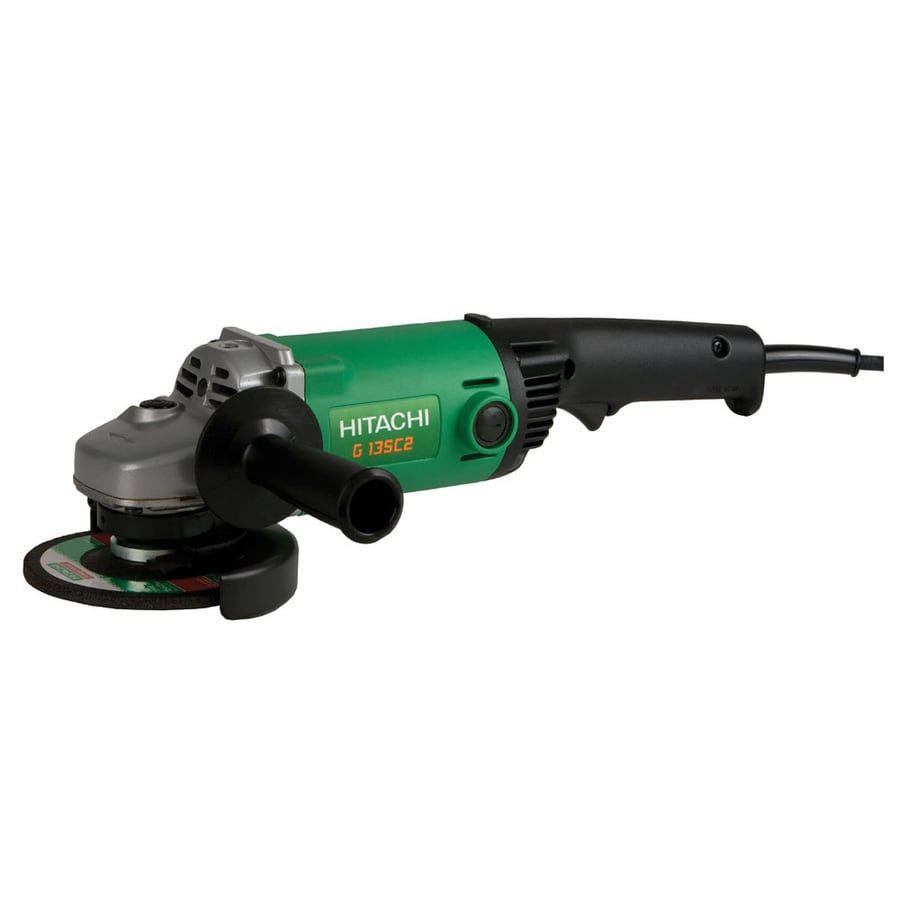 Hitachi 5-in 11 Amps Trigger Switch Corded Angle Grinder