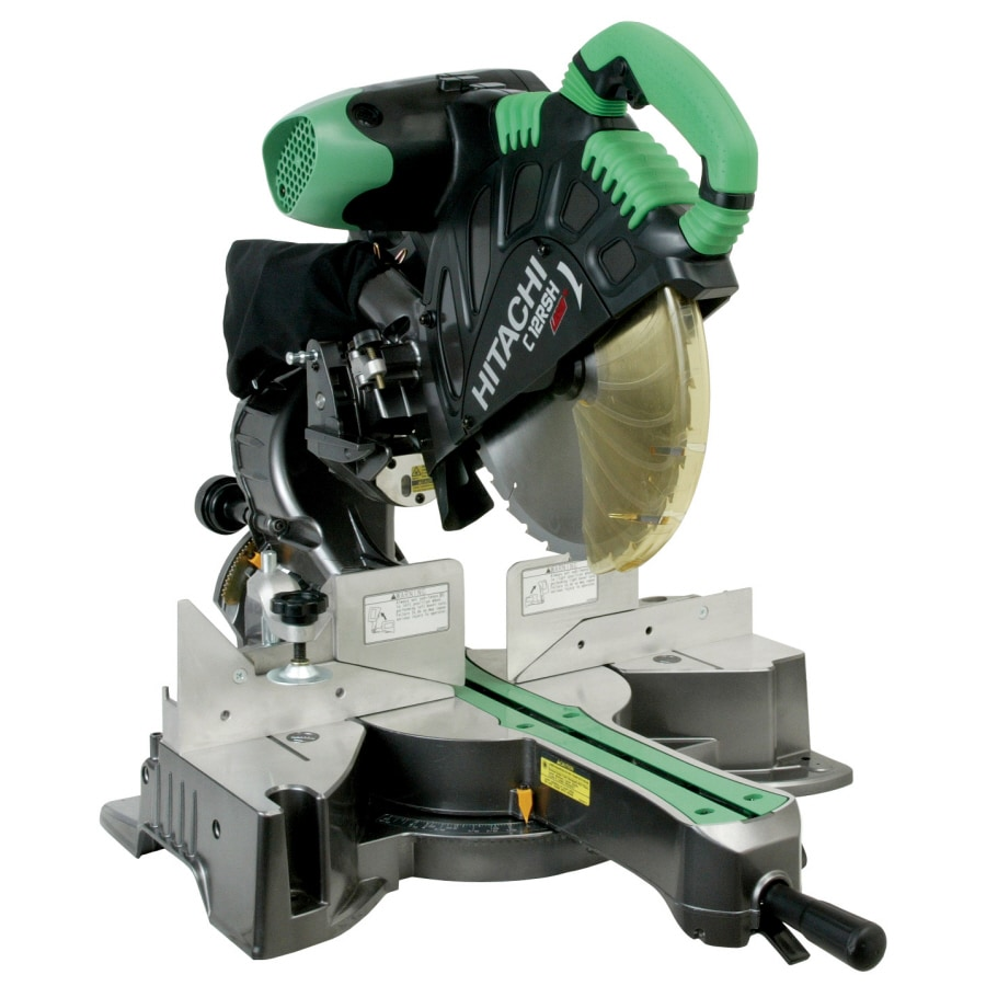 Hitachi 12-in 15-Amp Bevel Sliding Laser Compound Miter Saw