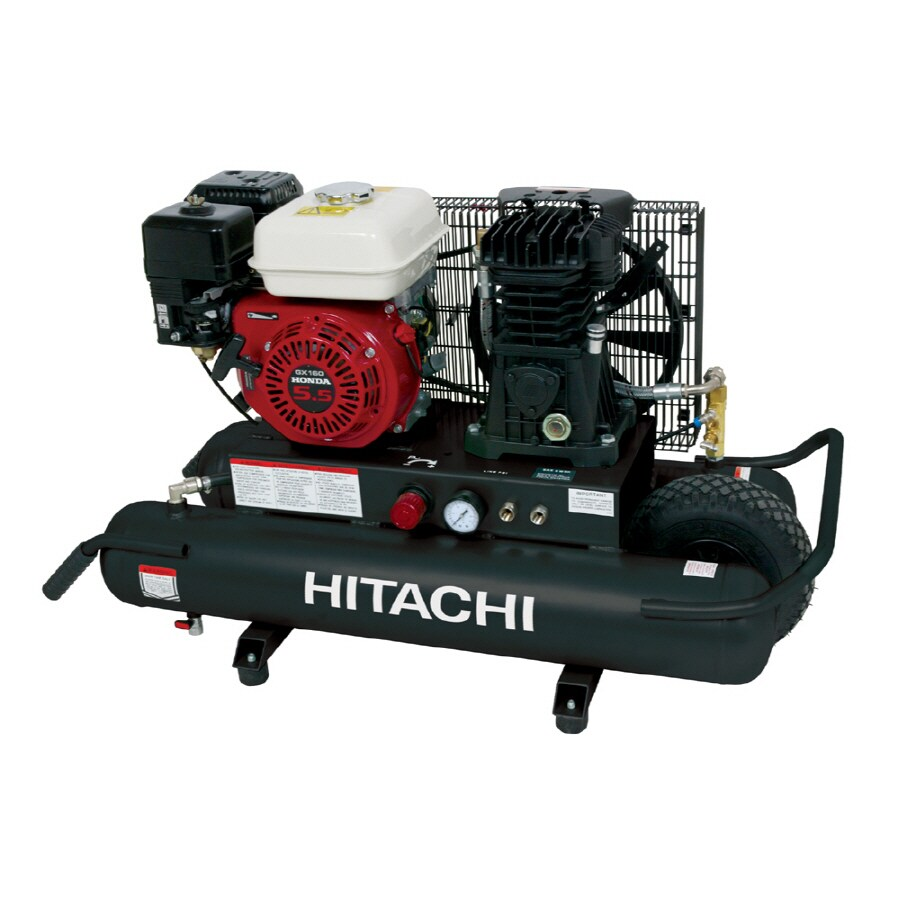 Hitachi 8-Gallon Gas Horizontal Air Compressor