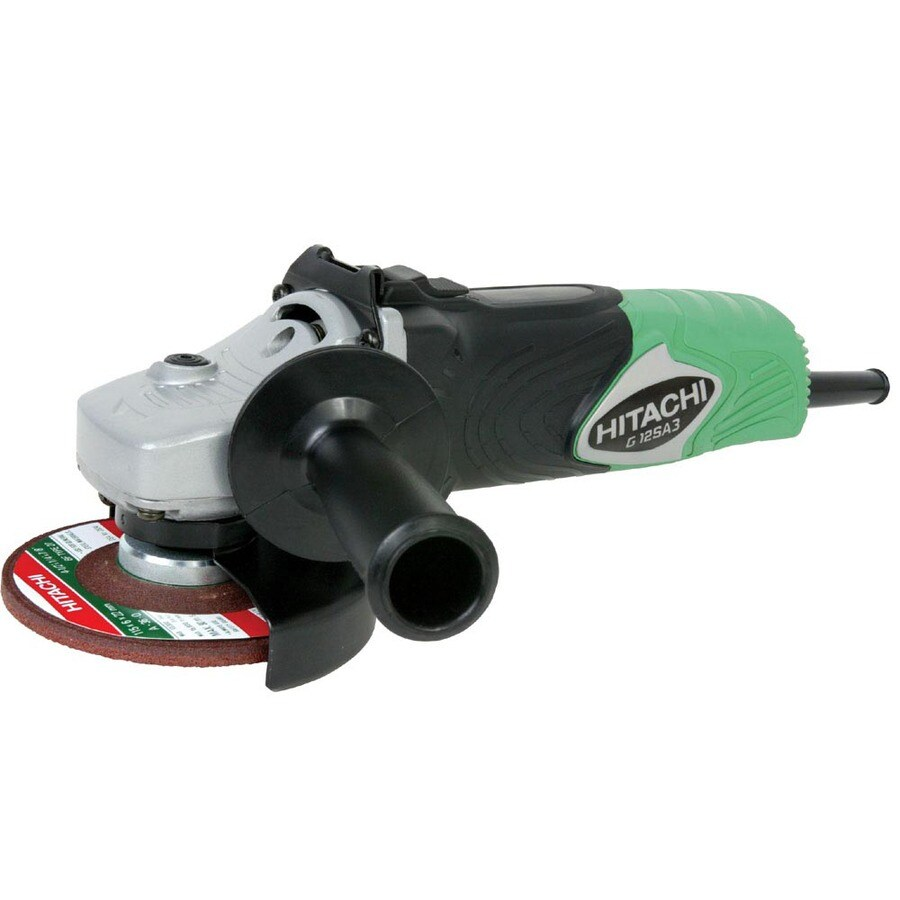 Hitachi 4-1/2-in 8-Amp Sliding Switch Corded Angle Grinder