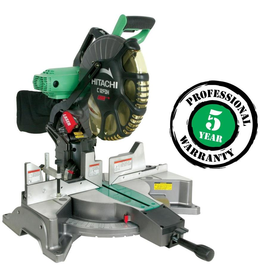 Hitachi 12-in 15-Amp Bevel Laser Compound Miter Saw