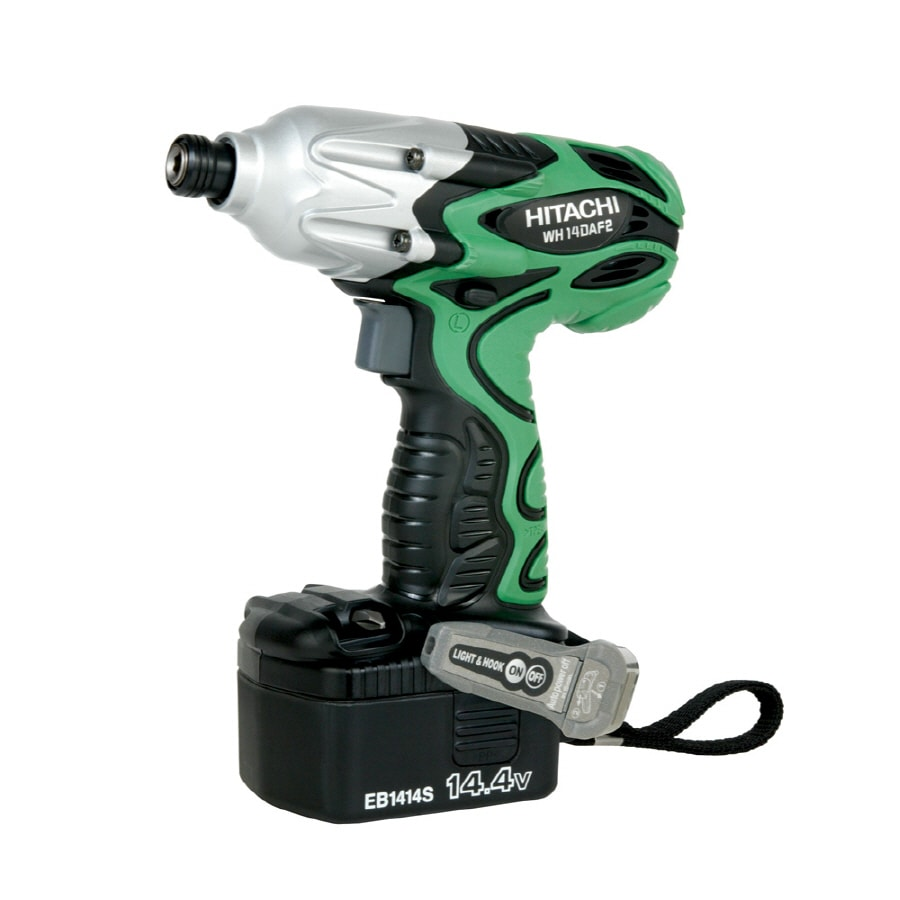 Hitachi 14.4-Volt Cordless Variable Speed Impact Driver