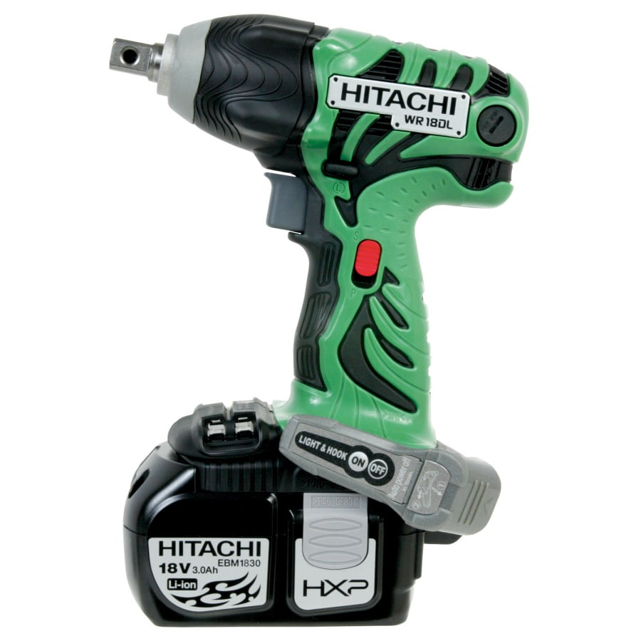 Hitachi 18-Volt 0.5-in Drive Cordless Impact Wrench