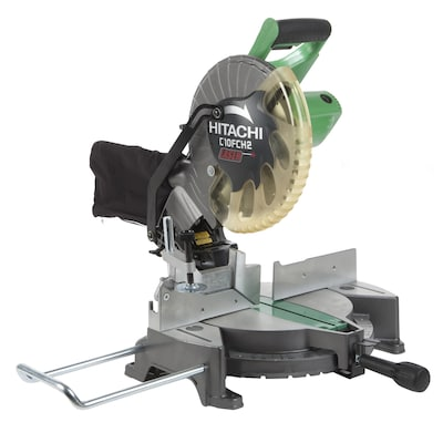 Hitachi 10-in 15-Amp Single Bevel Laser Compound Miter Saw