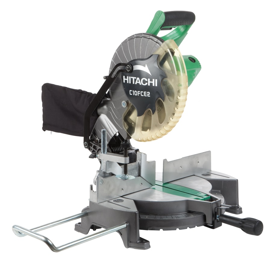 Shop Hitachi 10 In 15 Amp Compound Miter Saw At Lowes Com