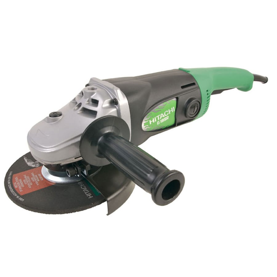 Hitachi 7-in 15-Amp Trigger Switch Corded Angle Grinder