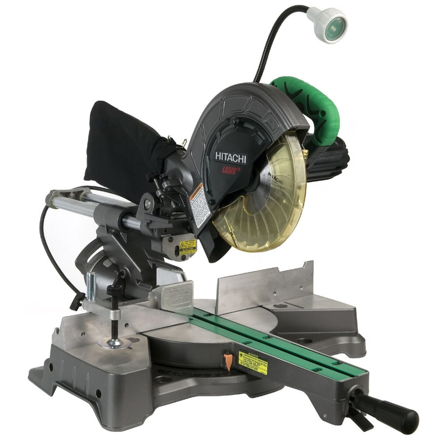 Hitachi 8-1/2-in 9.5-Amp Sliding Laser Compound Miter Saw