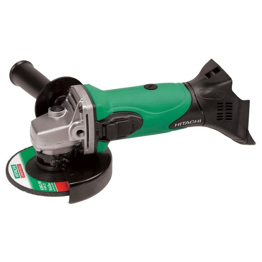 Hitachi 4.5-in 18-Volt-Volt Cordless Angle Grinder (Bare Tool Only)