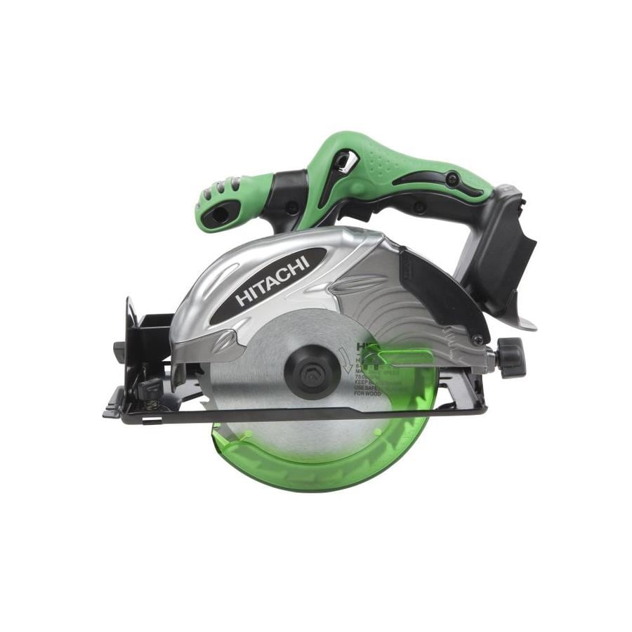 Hitachi 18-Volt 6-1/2-in Cordless Circular Saw with Brake and Metal