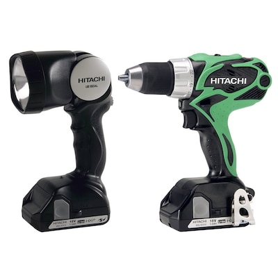 Hitachi 18-Volt 1/2-in Cordless Drill (Charger Included and