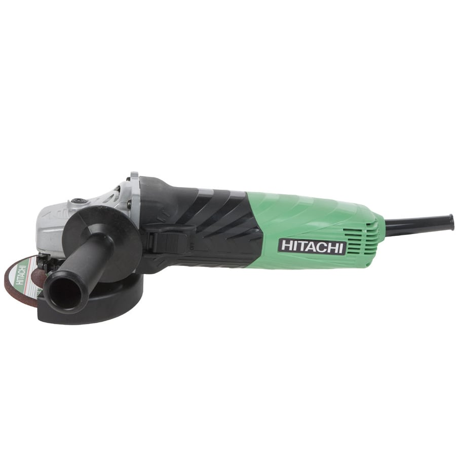 Hitachi 4-1/2-in 13-Amp Sliding Switch Corded Angle Grinder
