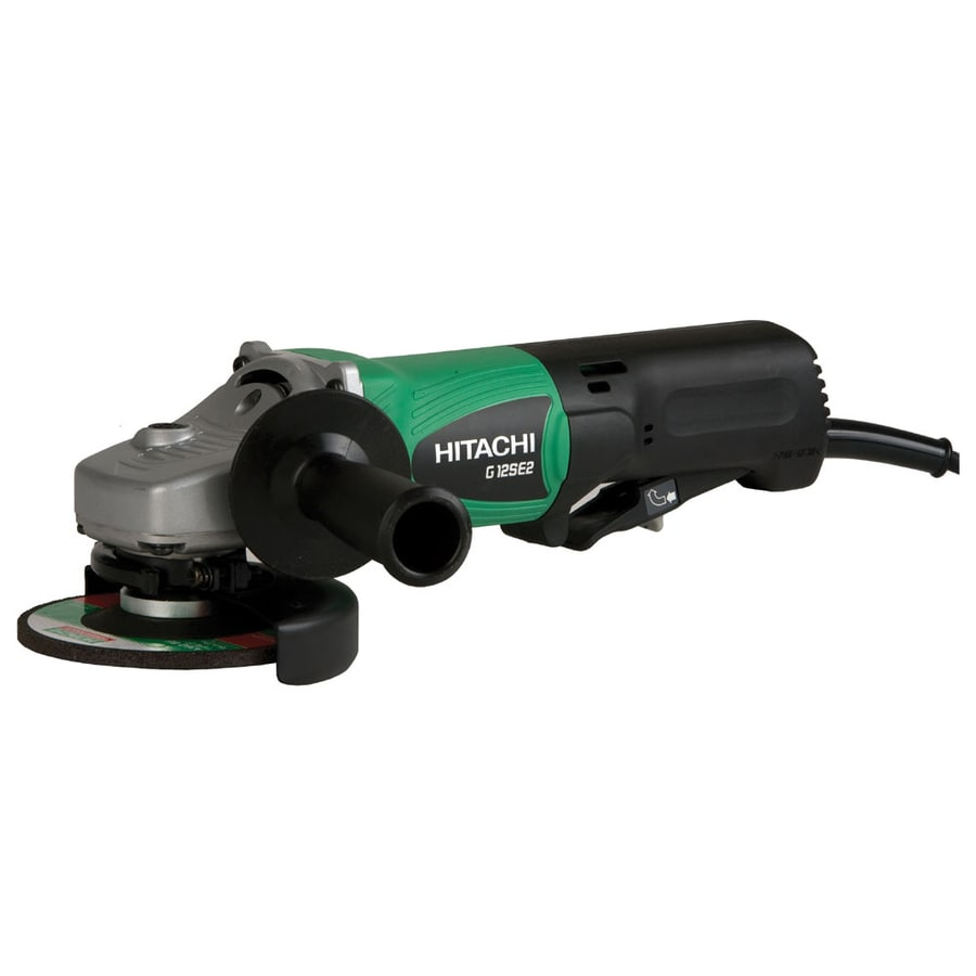 Hitachi 4-1/2-in 9.5-Amp Paddle Switch Corded Angle Grinder