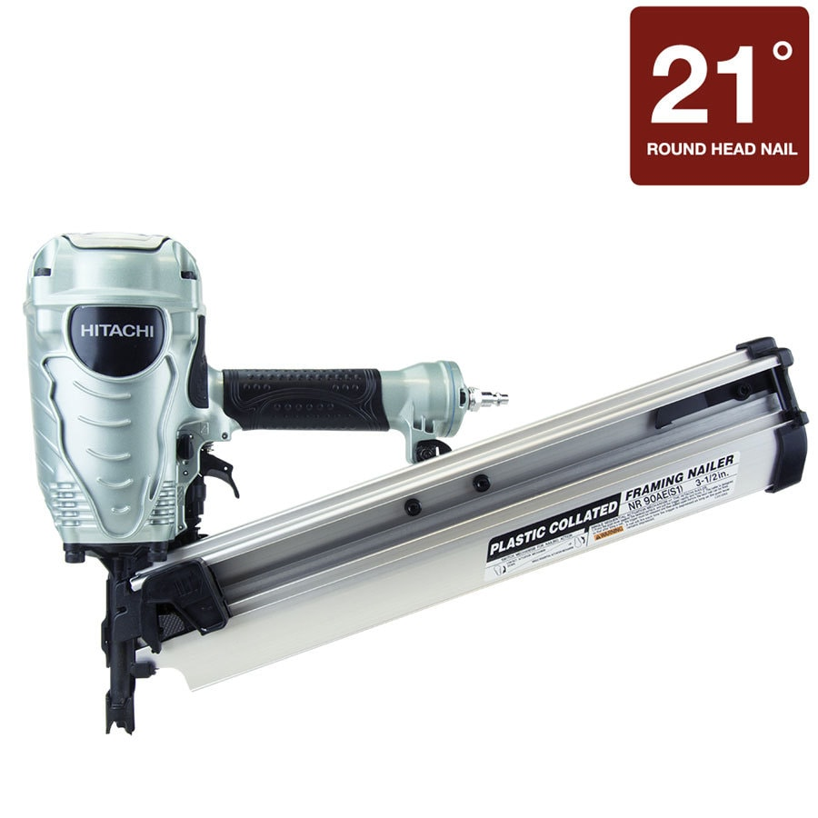 Shop Hitachi 3.5-in 21-Degree Framing Nailer at Lowes.com