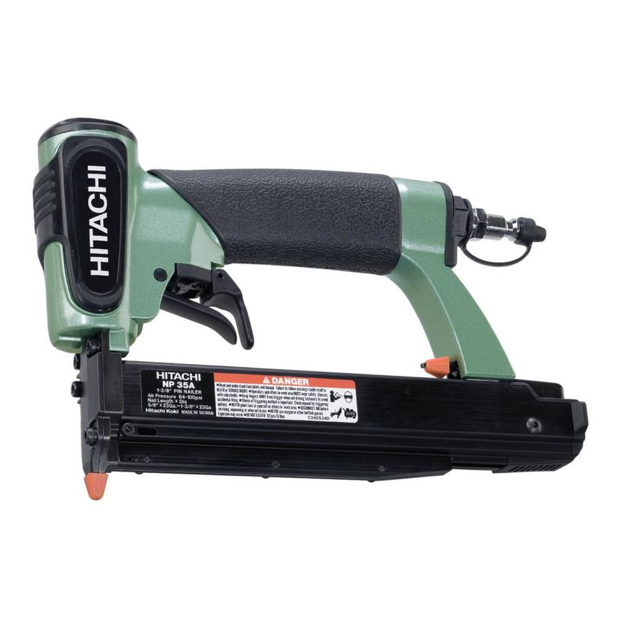 Hitachi 23-Gauge Roundhead Pin Pneumatic Nailer