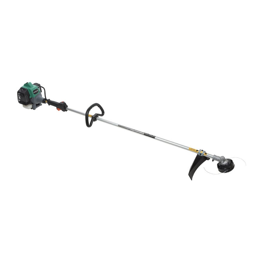 Hitachi 21-cc 2-Cycle Hitachi 17-in Straight Shaft Gas String Trimmer