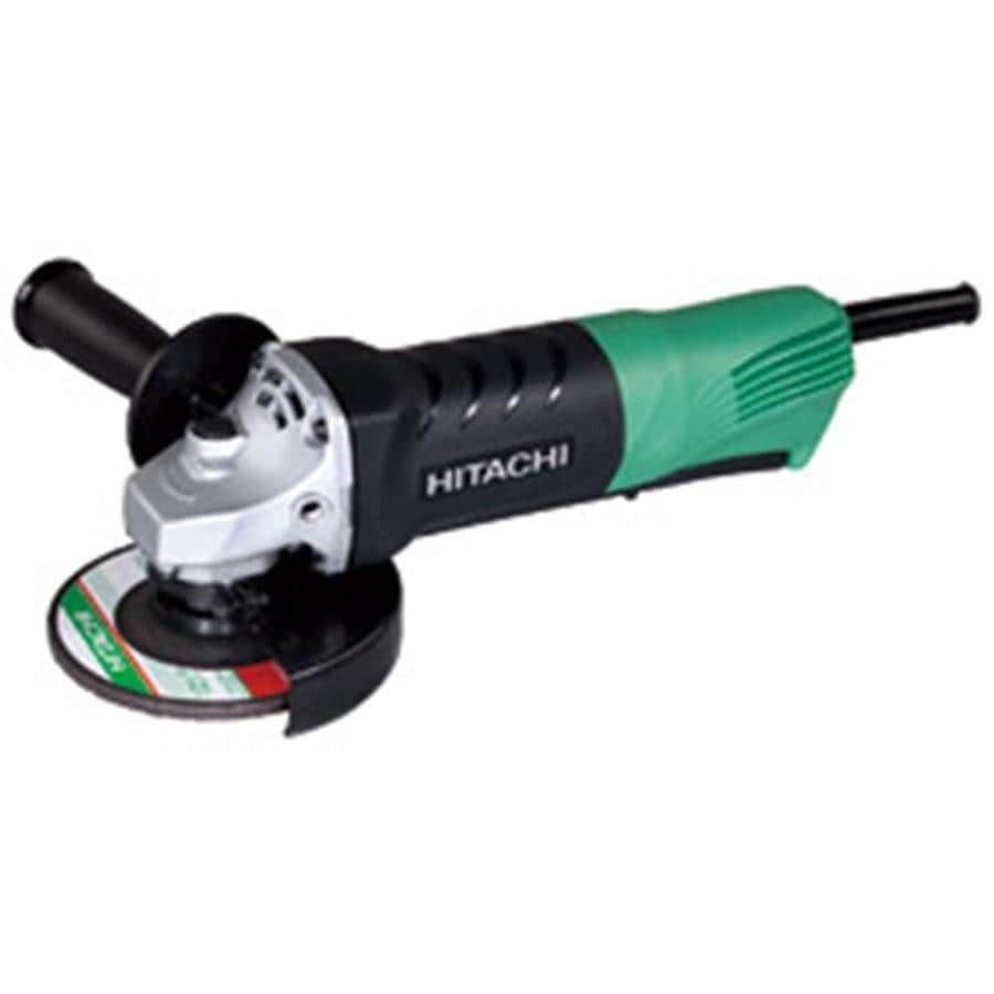 Hitachi 4-1/2-in 7.4-Amp Paddle Switch Corded Angle Grinder
