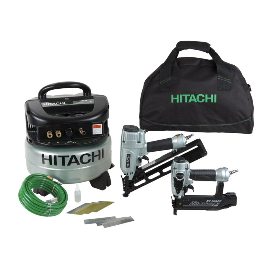 Hitachi 6-Gallon Portable Electric Pancake Air Compressor