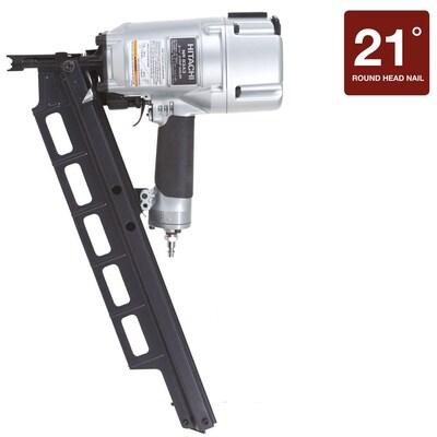 Hitachi 3 25-in 21-Degree Framing Nailer at Lowes com