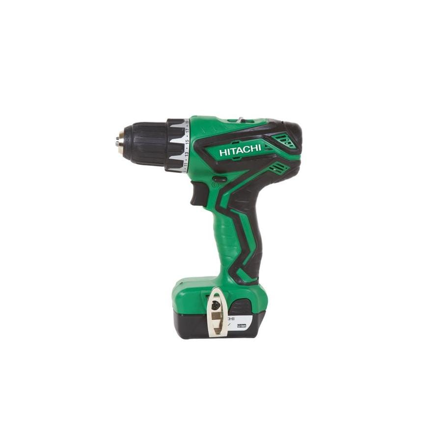 Hitachi 12-Volt Lithium Ion (Li-Ion) 3/8-in Cordless Drill with Battery and Hard Case