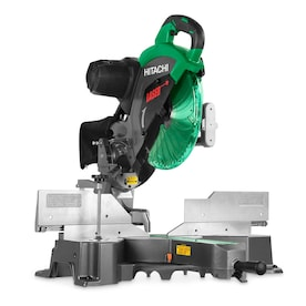 Hitachi 12-In-in 15-Amp Bevel Slide Laser Compound Miter Saw