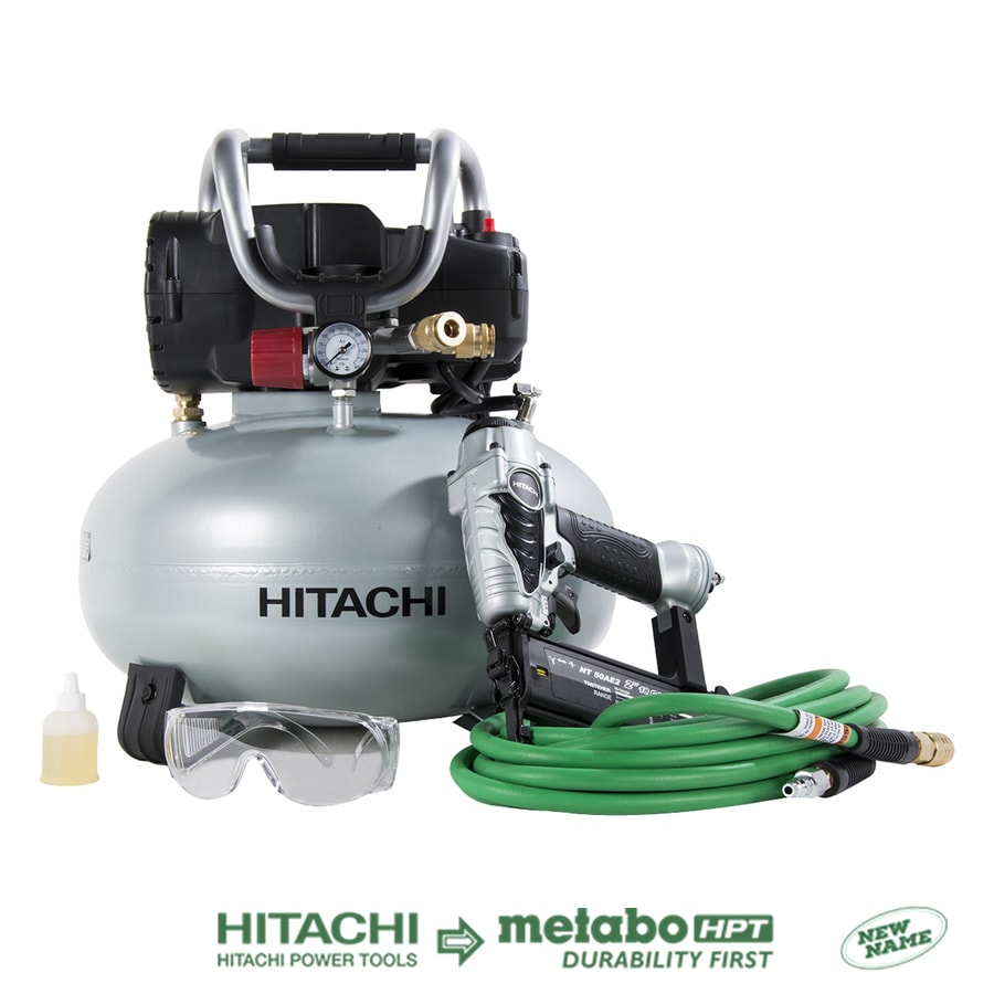 Hitachi 6-Gallon Portable Electric Pancake Air Compressor (1 Tool Included)