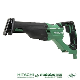 Hitachi Power Tools 18-Volt Variable Speed Brushless Cordless Reciprocating Saw (Bare Tool Only)