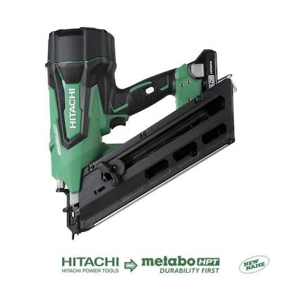 Hitachi 3 5 In 30 Degree Cordless Framing Nailer At Lowes Com