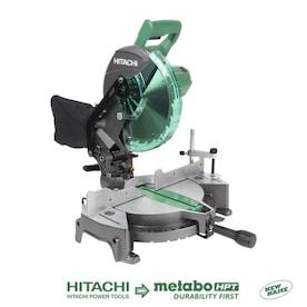 Hitachi 10-in 15-Amp Single Bevel Compound Miter Saw
