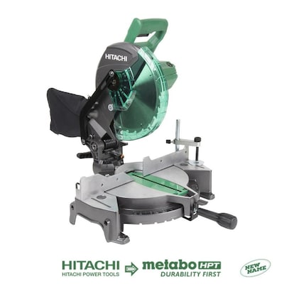 10 In 15 Amp Single Bevel Compound Miter Saw