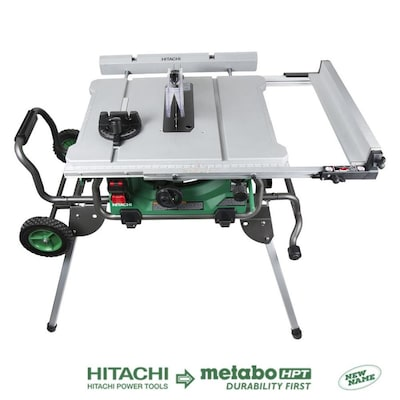 Hitachi 10-in Carbide-Tipped Blade 15-Amp Table Saw
