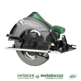 Hitachi 7-1/4-in 15-Amp Corded Circular Saw with Aluminum Shoe and Soft Case