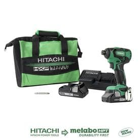 Hitachi 18-Volt Variable Speed Brushless Cordless Impact Driver (1-Battery Included)