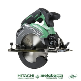 Hitachi 18-Volt 6-1/2-in Cordless Circular Saw with Brake and Nickel-plated Aluminum Shoe (Bare Tool Only)