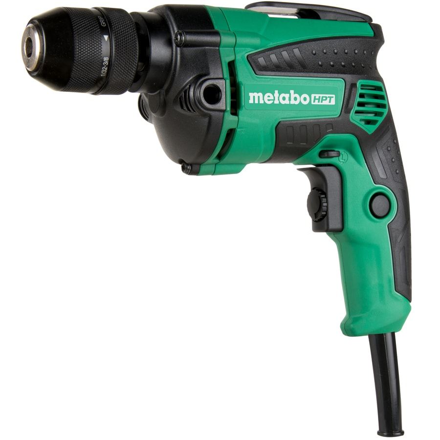 Metabo Hpt Was Hitachi Power Tools 3 8 In Keyless Corded Drill In The Drills Department At Lowes Com